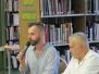 Grecsó Krisztián a Somogyi-könyvtárban, 2019. 06. 13.